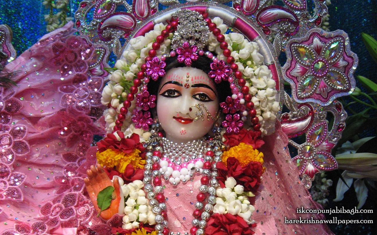 Sri Radha Close up Wallpaper (007) Size 1280x800 Download