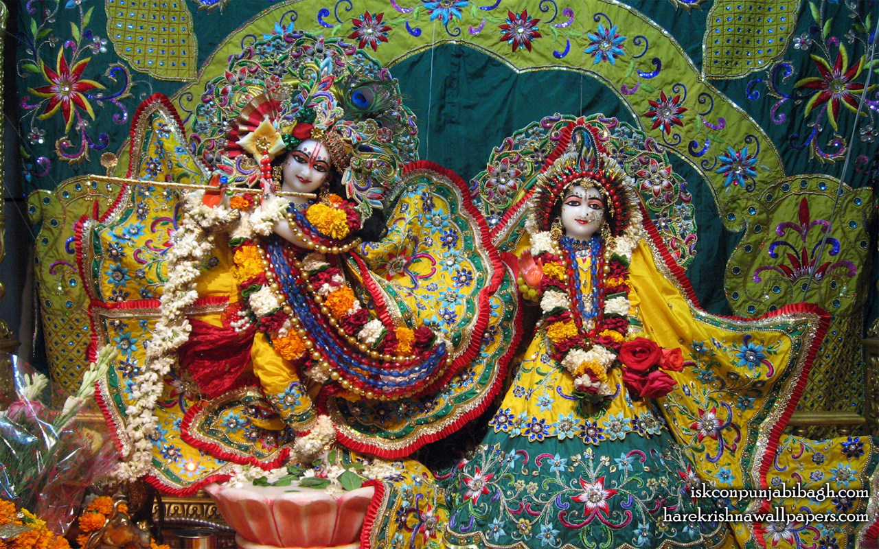 Sri Sri Radha Radhikaraman Wallpaper (007) Size 1280x800 Download