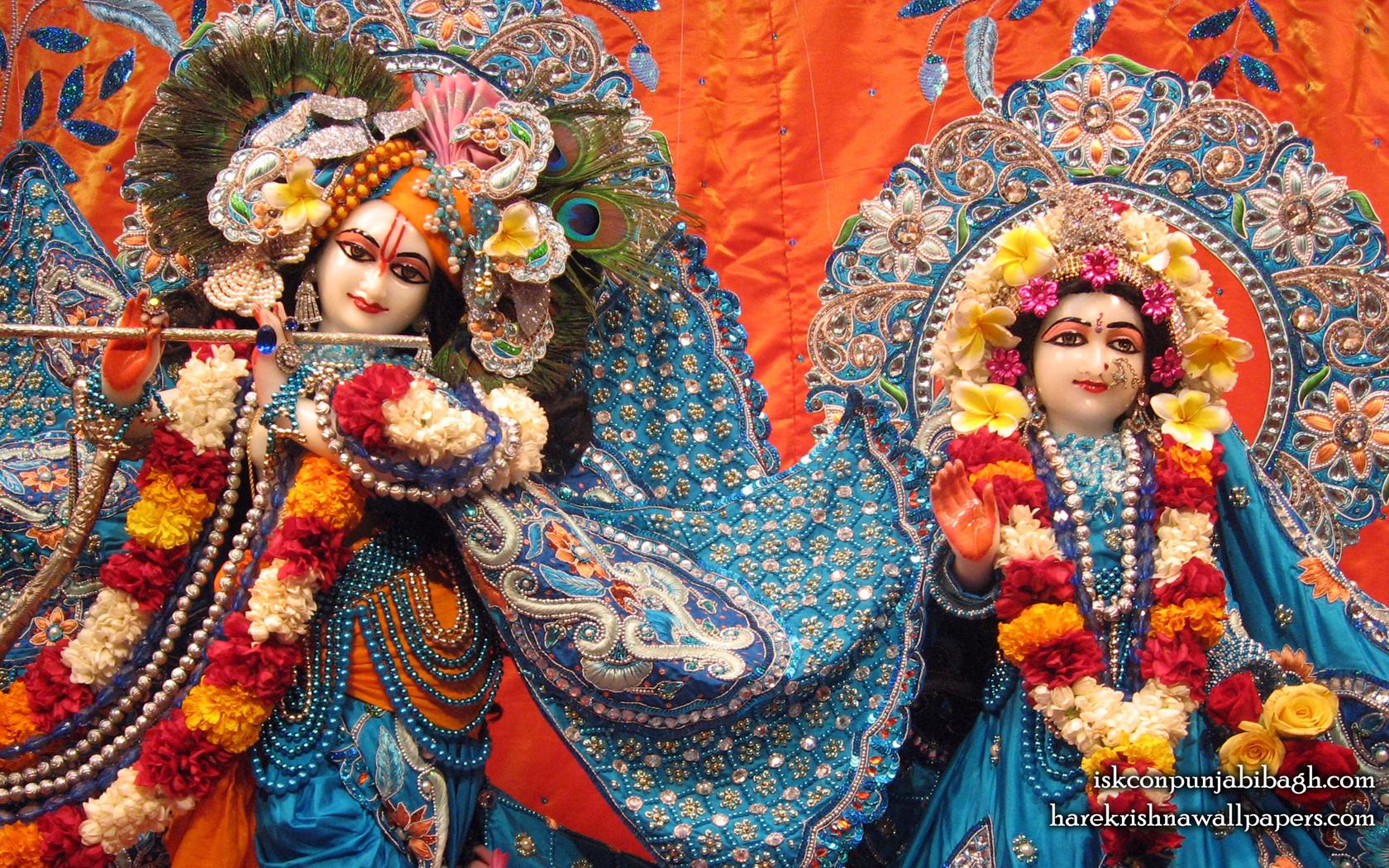 Sri Sri Radha Radhikaraman Close up Wallpaper (007) Size 1680x1050 Download