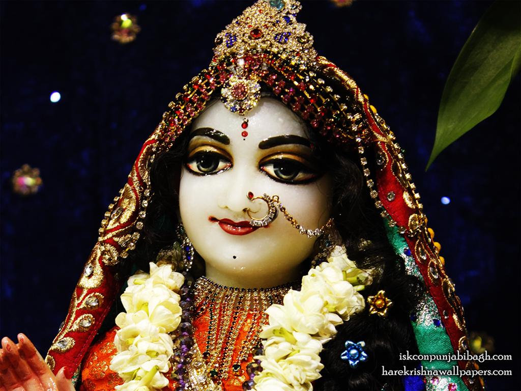 Sri Radha Close up Wallpaper (009) Size 1024x768 Download