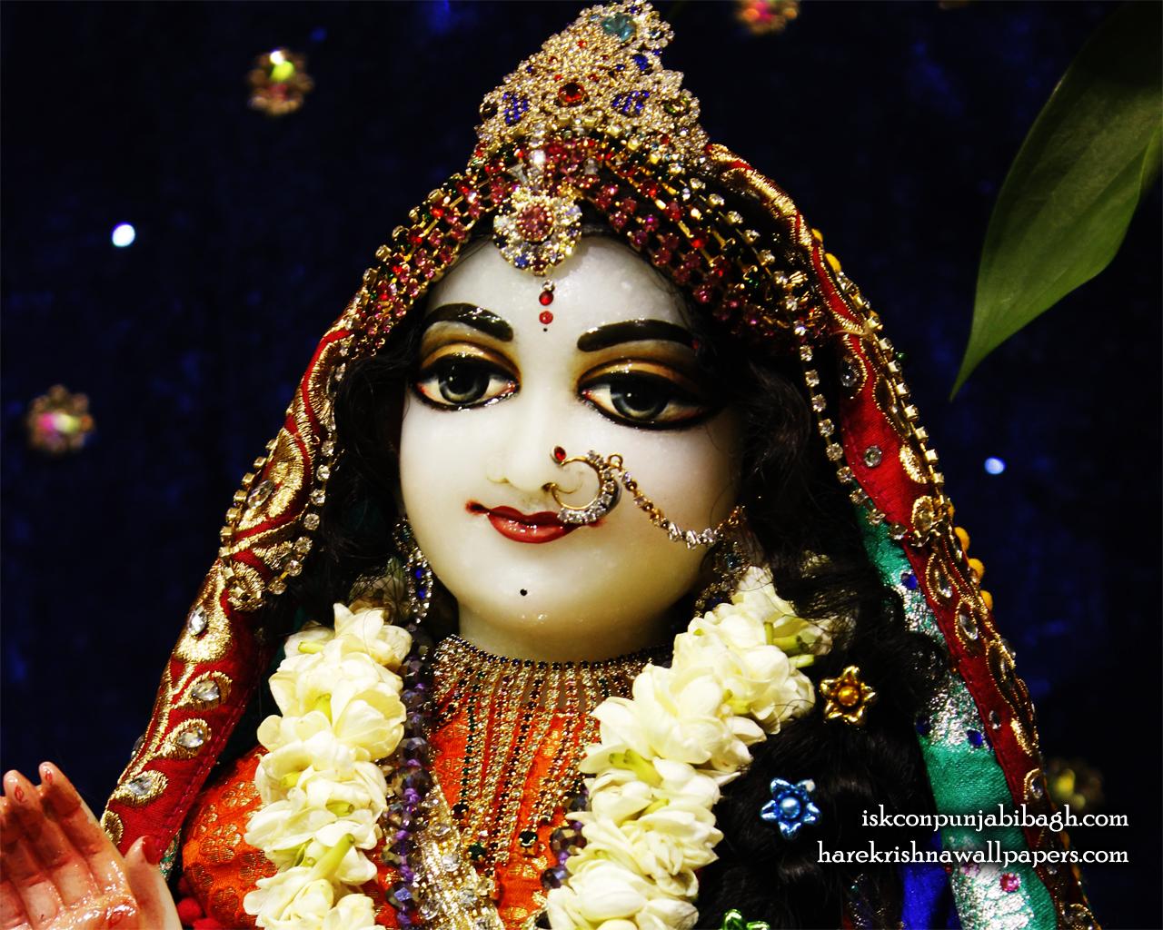 Sri Radha Close up Wallpaper (009) Size 1280x1024 Download