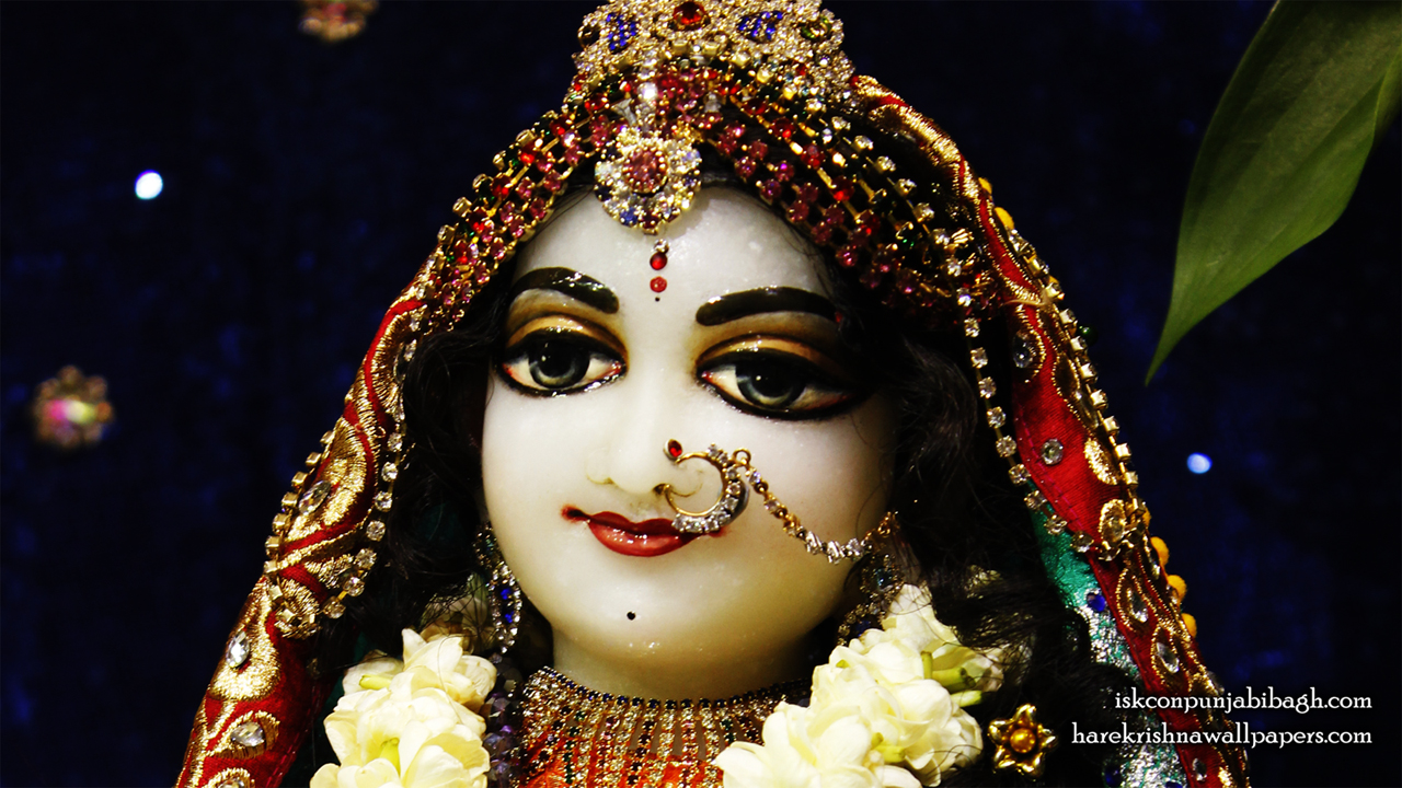 Sri Radha Close up Wallpaper (009) Size1280x720 Download