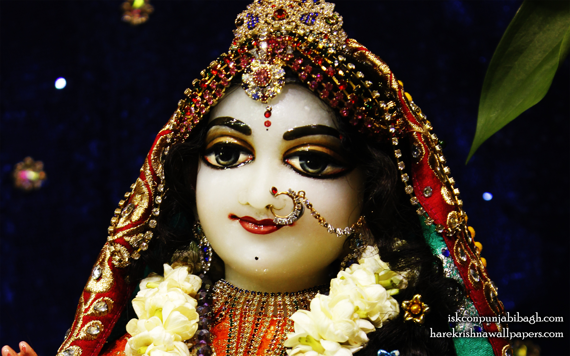 Sri Radha Close up Wallpaper (009) Size 1920x1200 Download