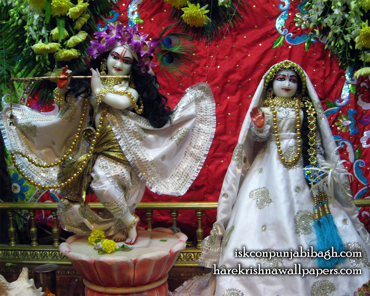 Sri Sri Radha Radhikaraman Wallpaper (009) Size 1280x1024 Download
