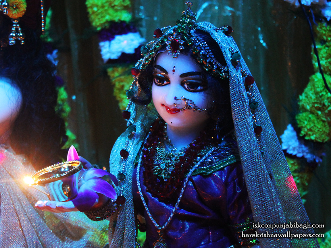 Sri Radha Close up Wallpaper (010) Size 1152x864 Download