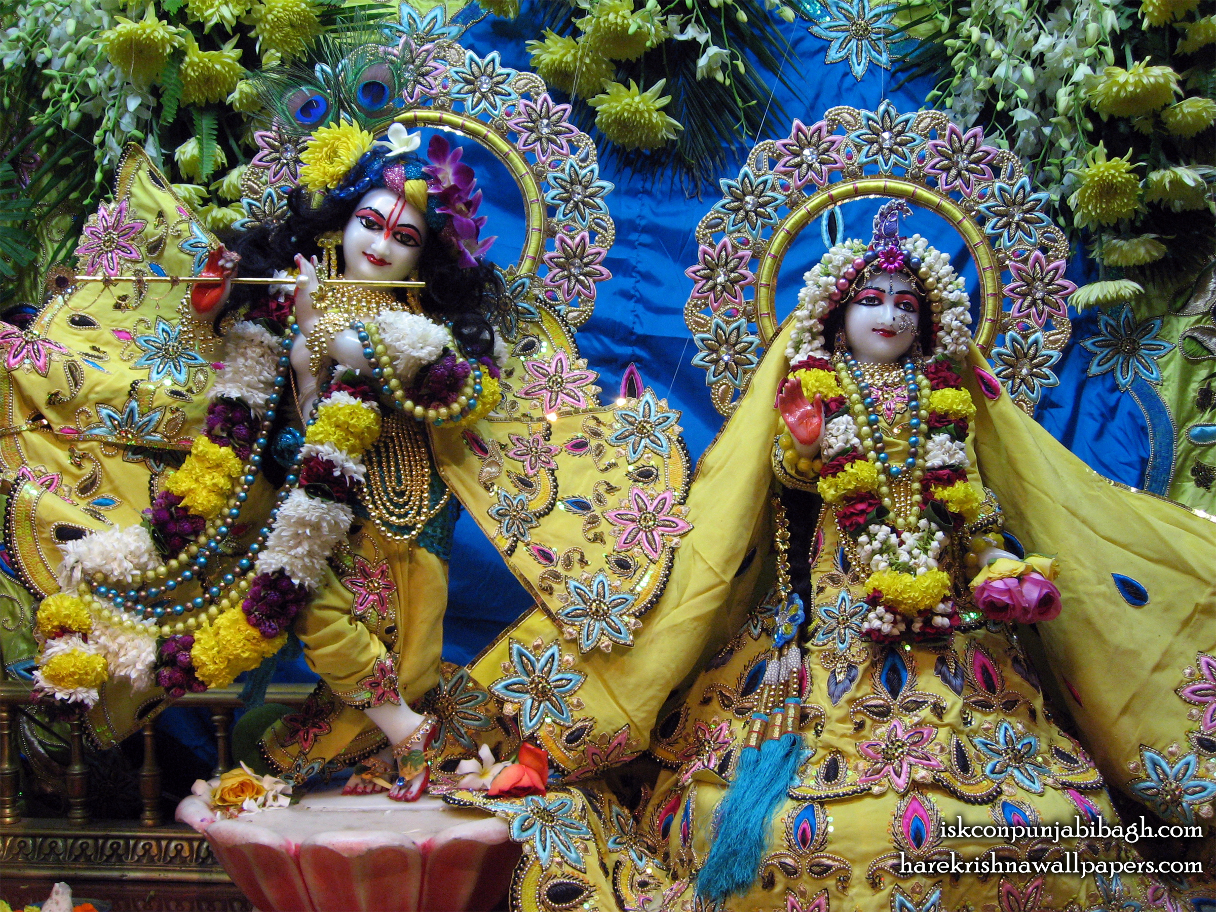 Sri Sri Radha Radhikaraman Wallpaper (010) Size 2400x1800 Download