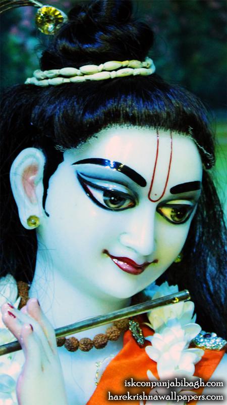 Sri Radhikaraman Close up Wallpaper (011) Size 450x800 Download