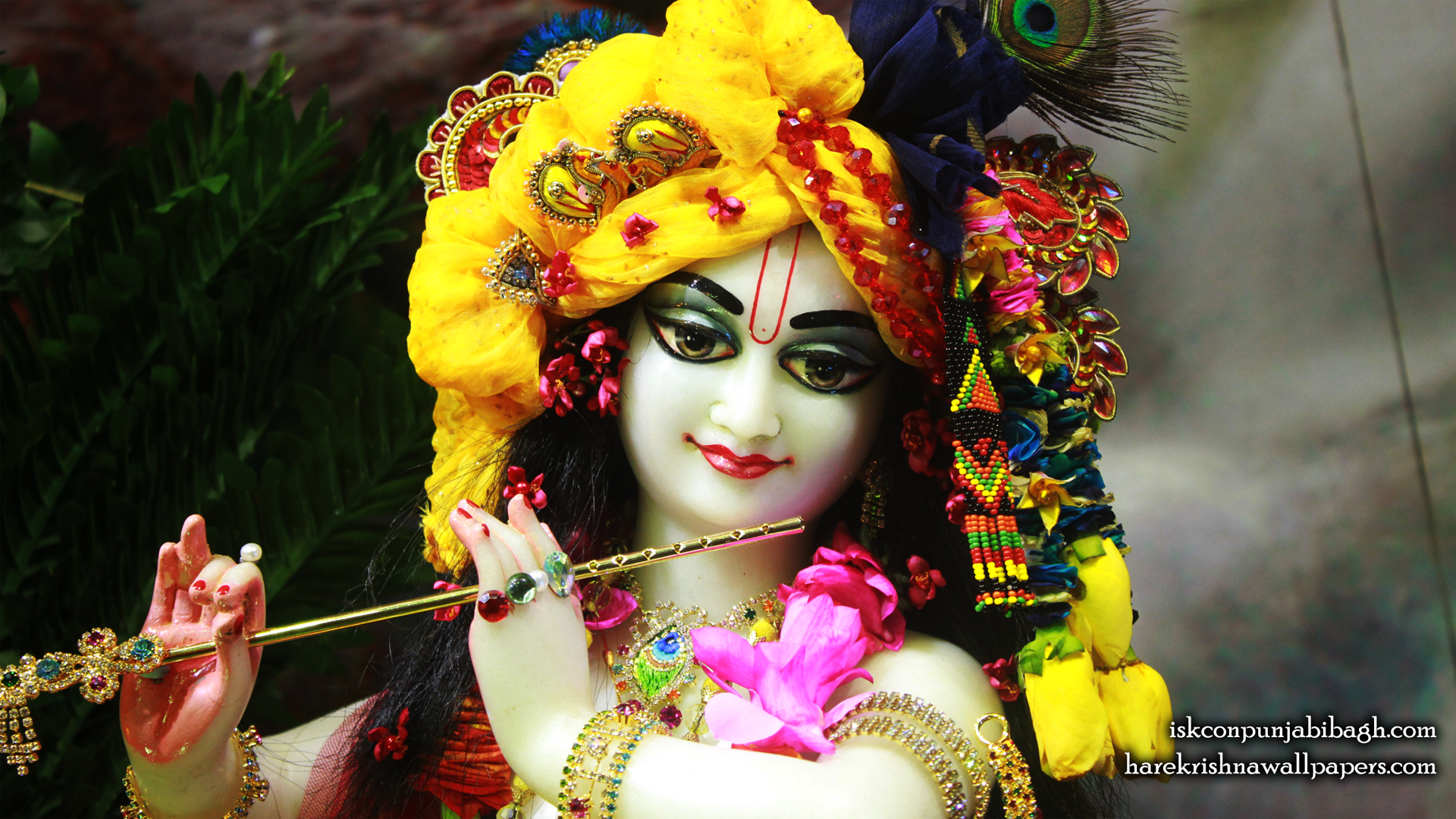 Sri Radhikaraman Close up Wallpaper (012) Size 1920x1080 Download