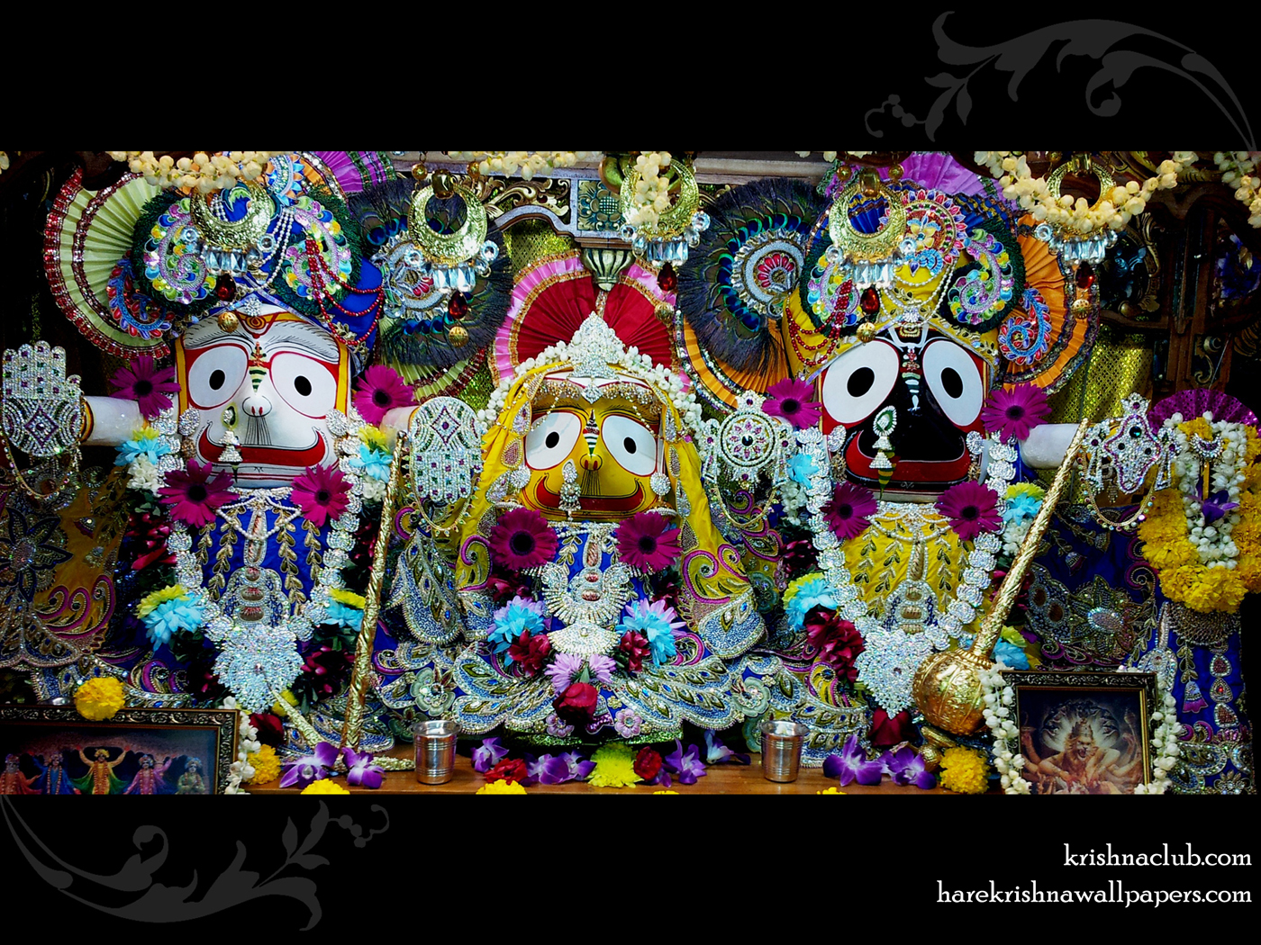 Jagannath Baladeva Subhadra Wallpaper (001) Size 1400x1050 Download