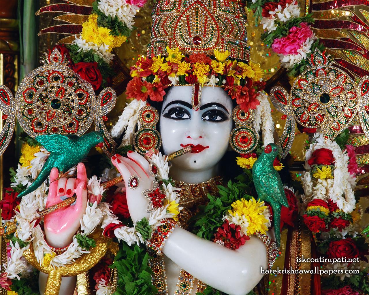 Sri Govinda Close up Wallpaper (001) Size 1280x1024 Download