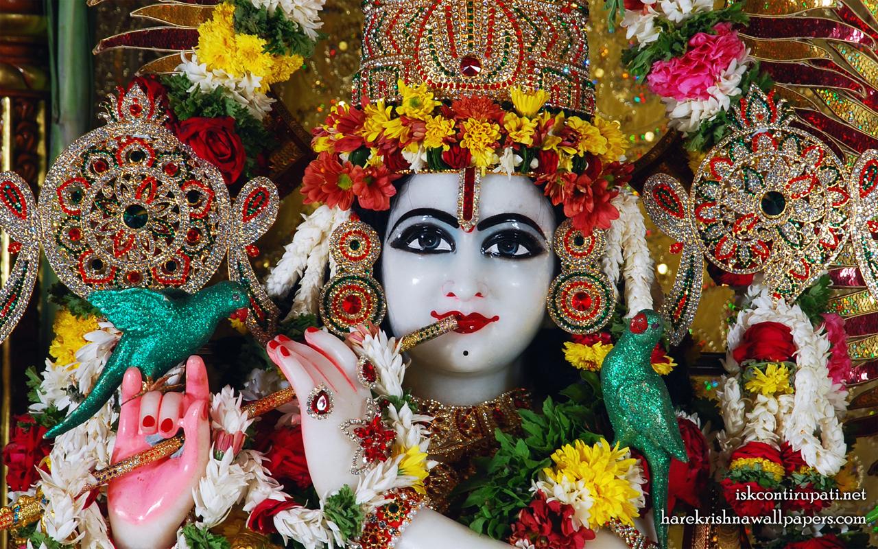 Sri Govinda Close up Wallpaper (001) Size 1280x800 Download