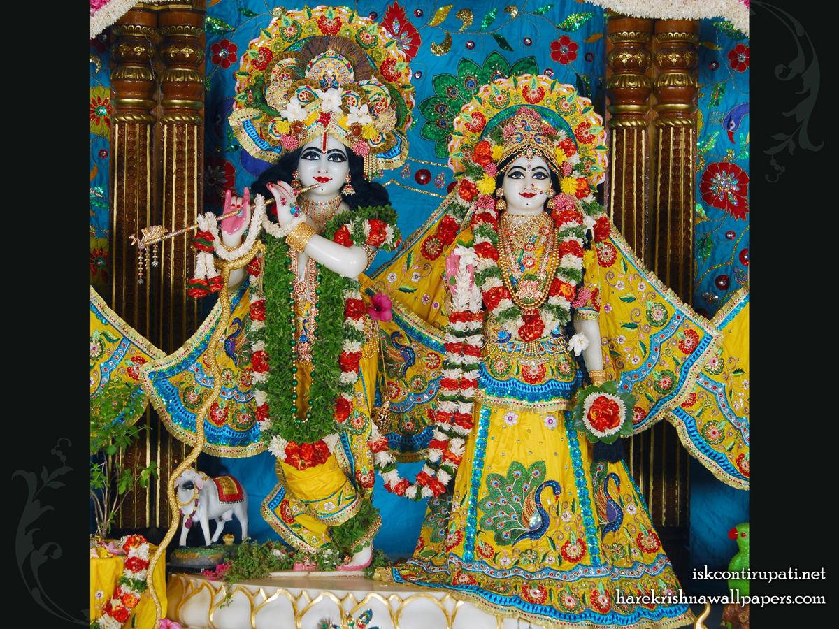 Sri Sri Radha Govinda Wallpaper (001) Size 1200x900 Download