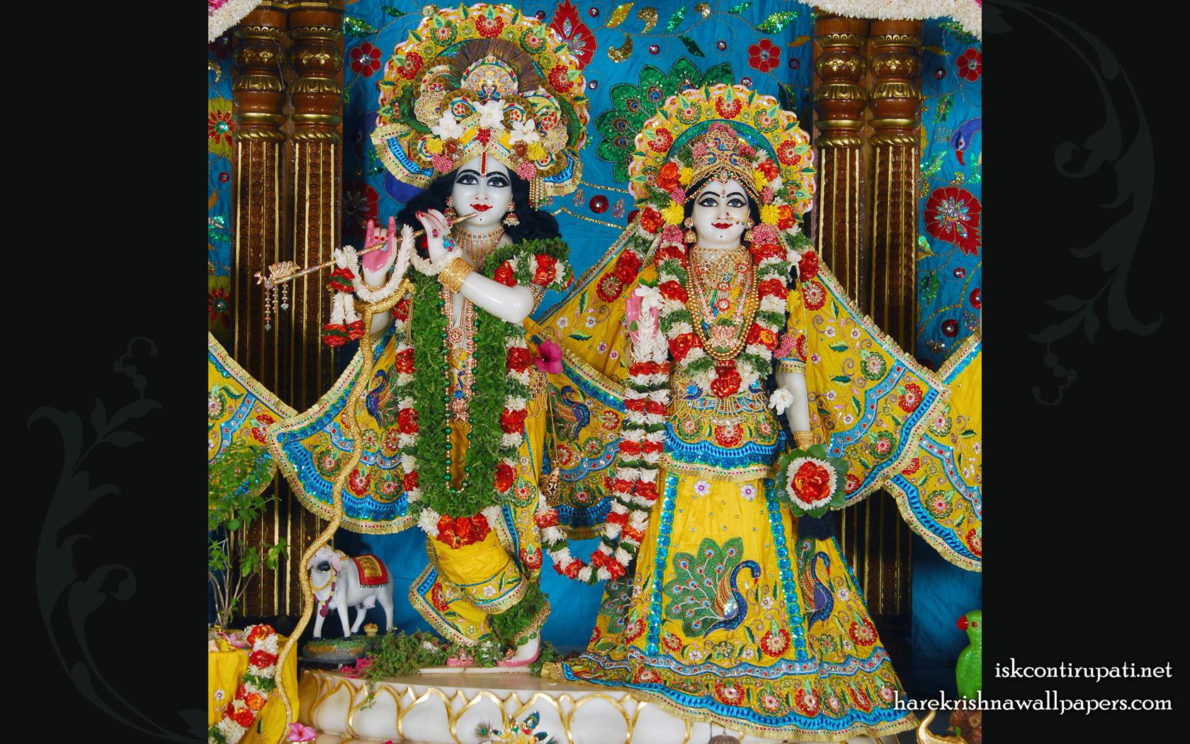Sri Sri Radha Govinda Wallpaper (001) Size 1680x1050 Download