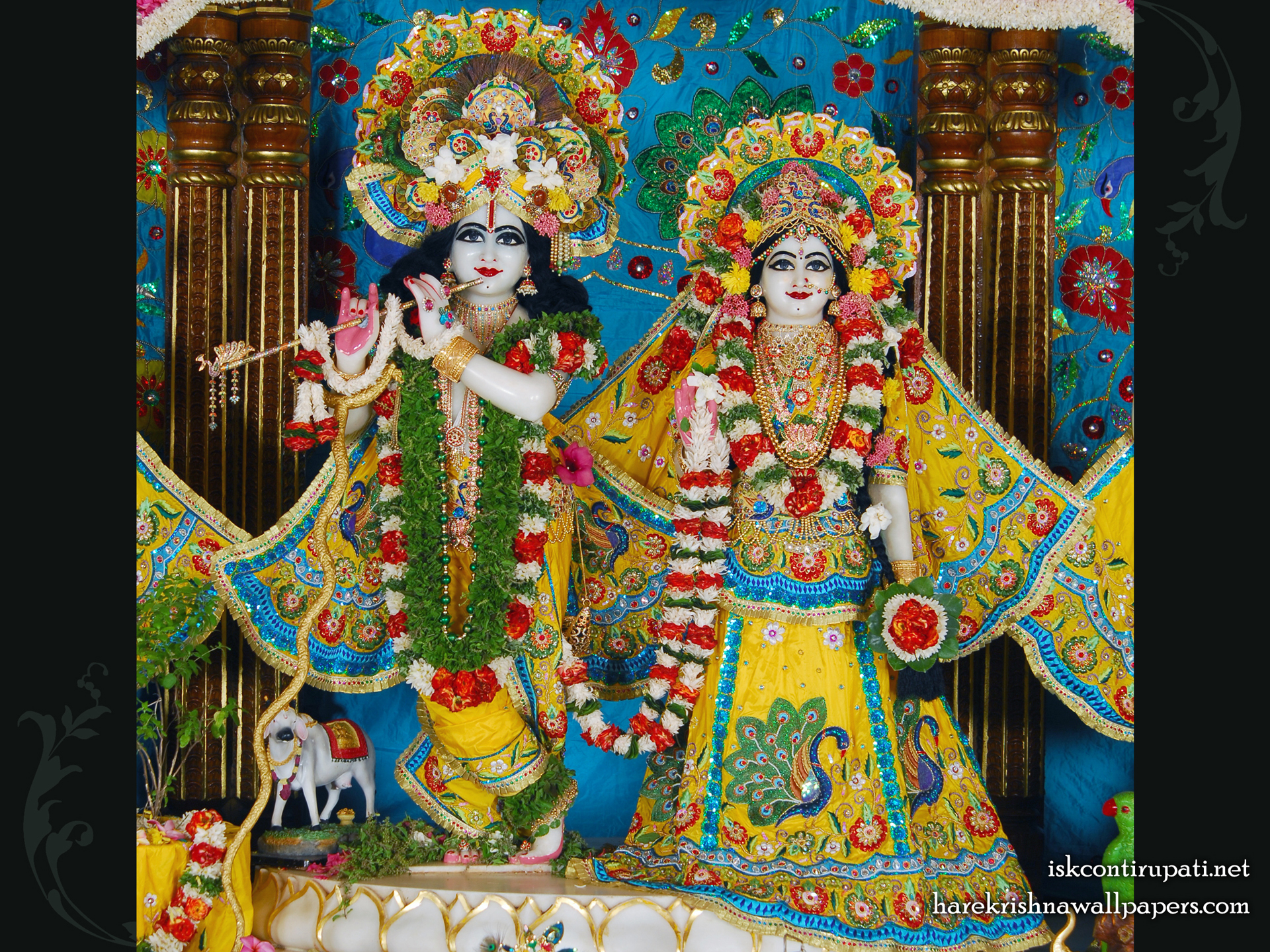 Sri Sri Radha Govinda Wallpaper (001) Size 1920x1440 Download
