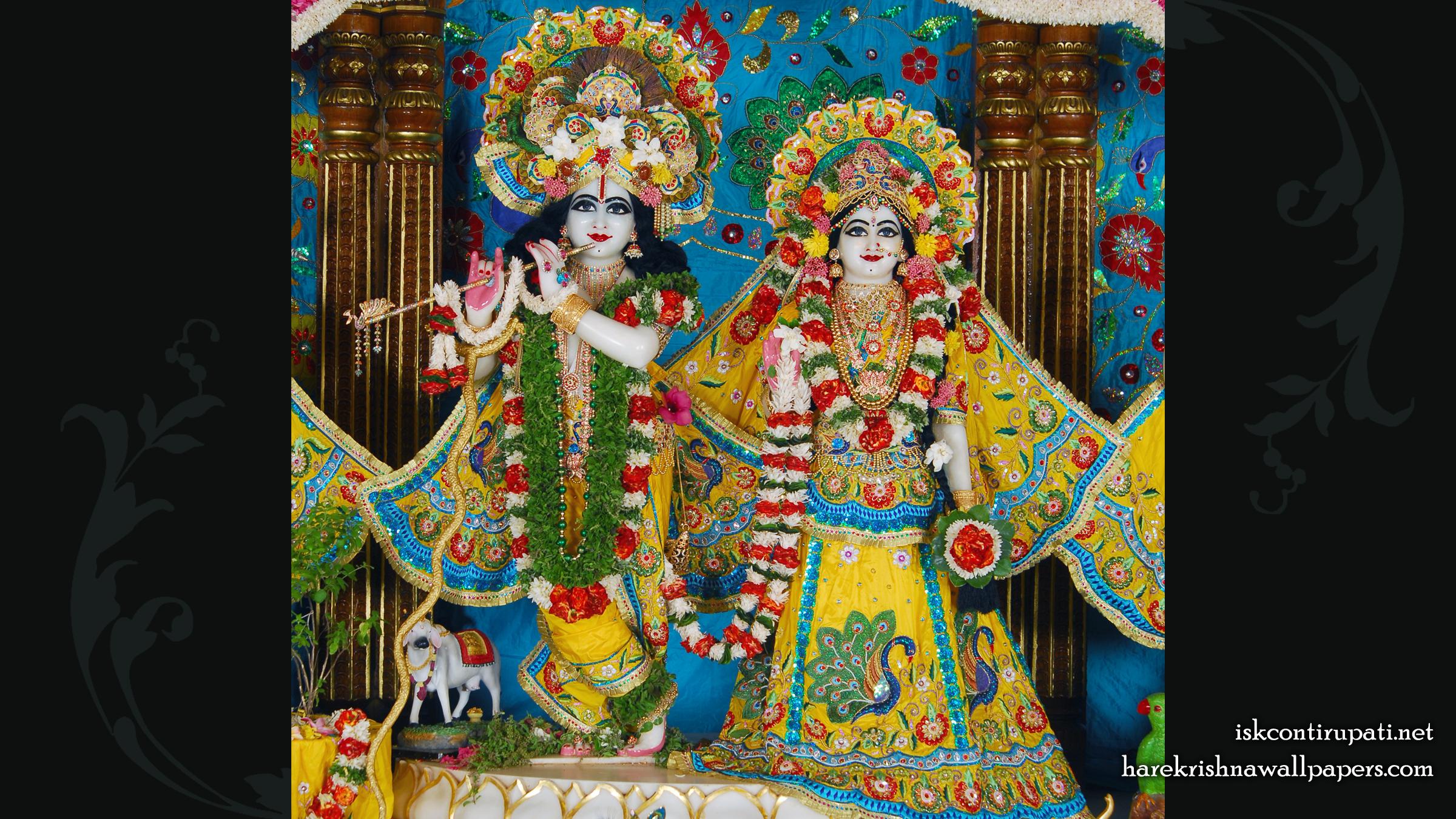 Sri Sri Radha Govinda Wallpaper (001) Size 2400x1350 Download