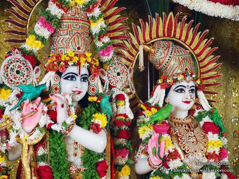 Sri Sri Radha Govinda Close up Wallpaper (001)