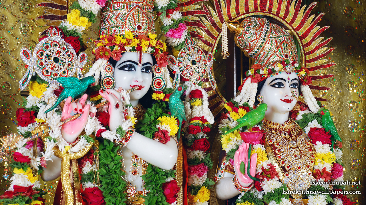 Sri Sri Radha Govinda Close up Wallpaper (001) Size 1280x720 Download