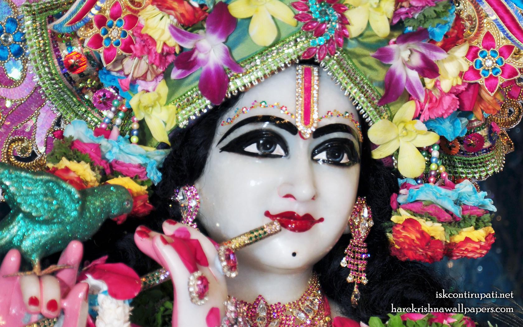 Sri Govinda Close up Wallpaper (002) Size 1680x1050 Download