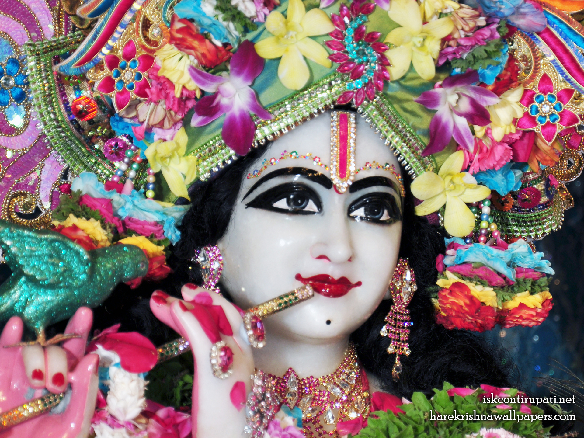 Sri Govinda Close up Wallpaper (002) Size 1920x1440 Download