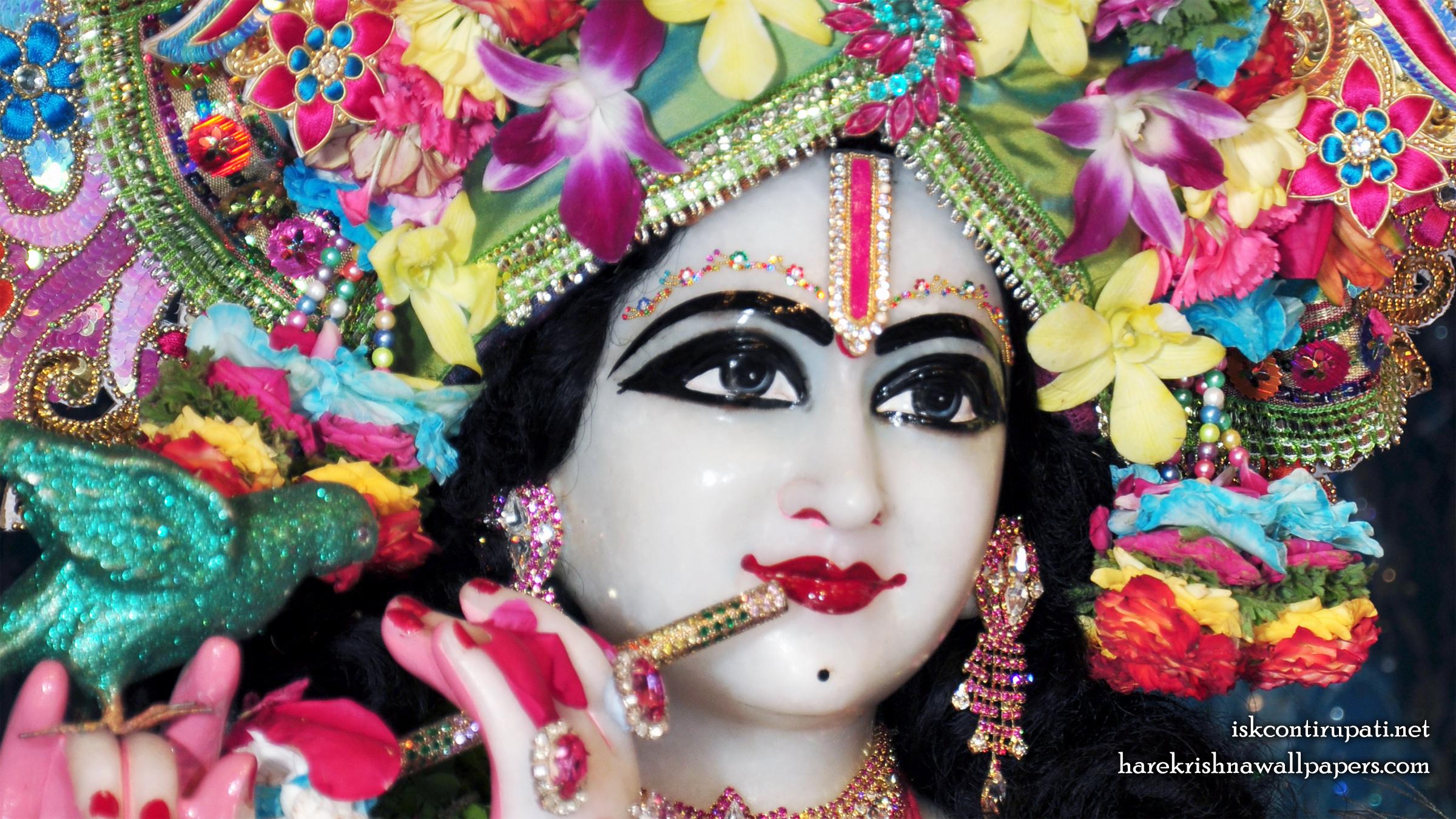 Sri Govinda Close up Wallpaper (002) Size 2400x1350 Download