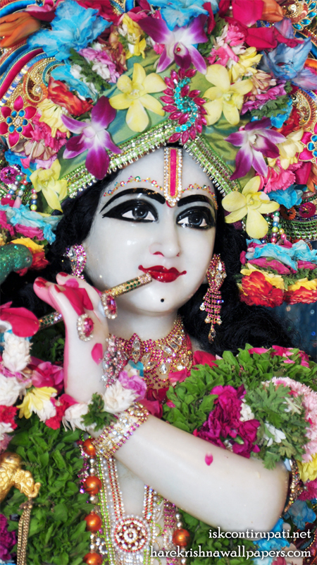 Sri Govinda Close up Wallpaper (002) Size 450x800 Download