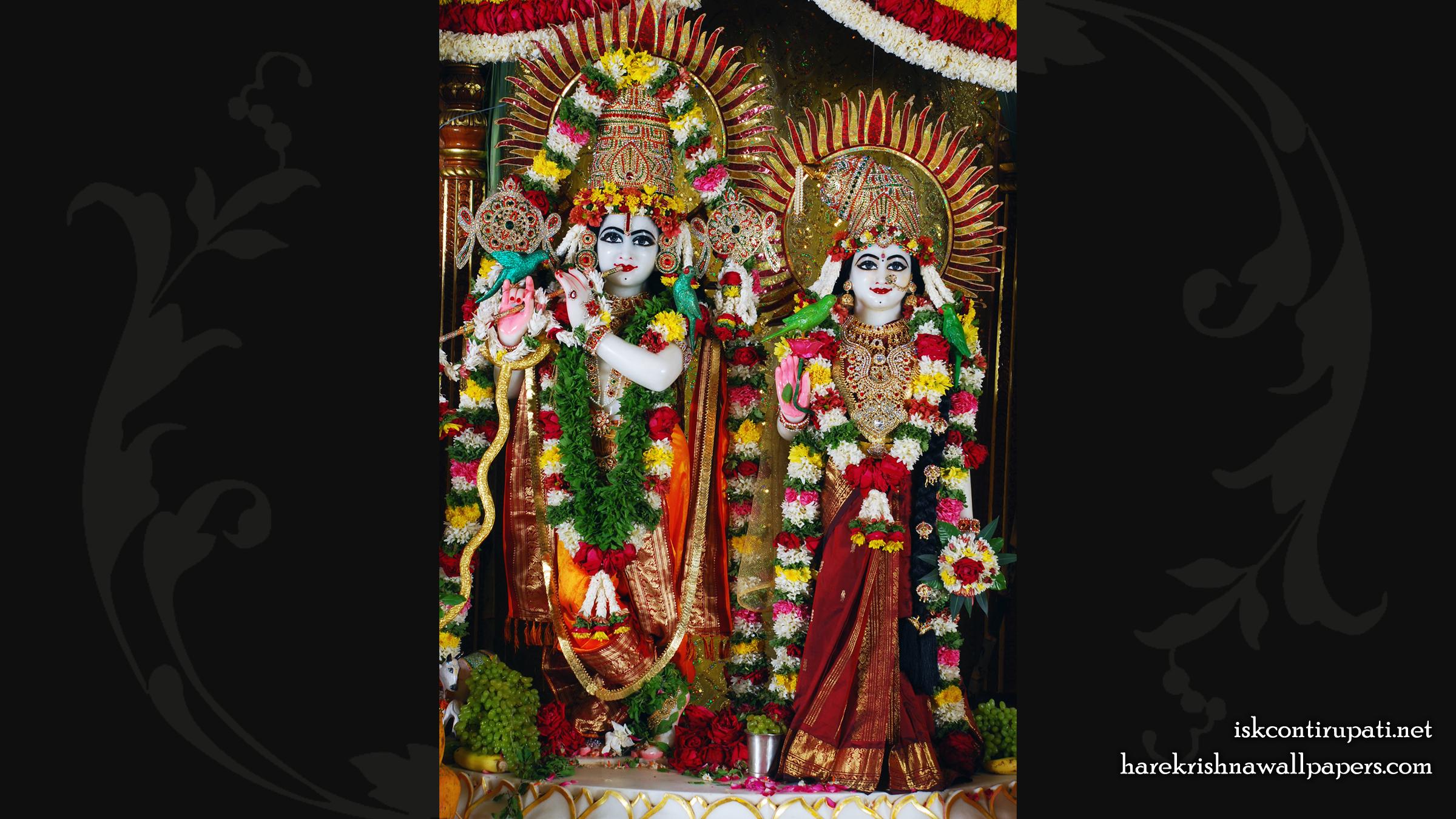 Sri Sri Radha Govinda Wallpaper (002) Size 2400x1350 Download