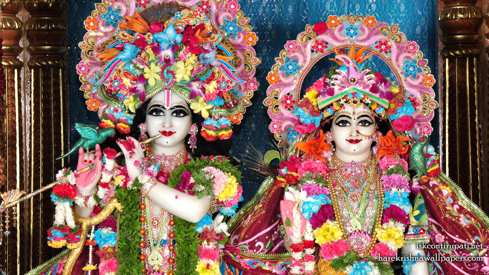 Sri Sri Radha Govinda Close up Wallpaper (002) Size 1600x900 Download