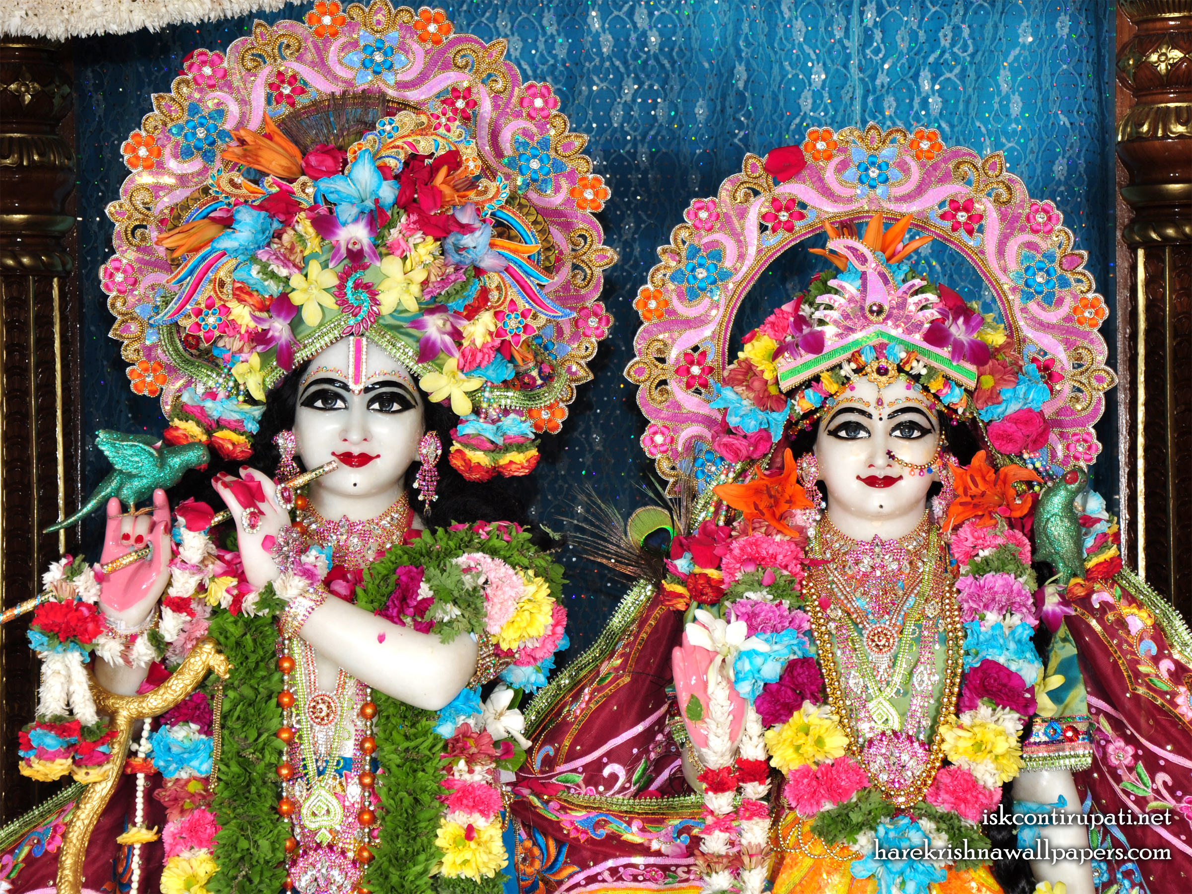 Sri Sri Radha Govinda Close up Wallpaper (002) Size 2400x1800 Download