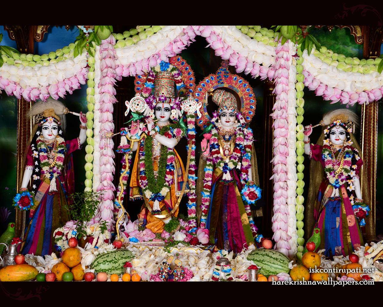 Sri Sri Radha Govinda Lalita Vishakha Wallpaper (002) Size 1280x1024 Download