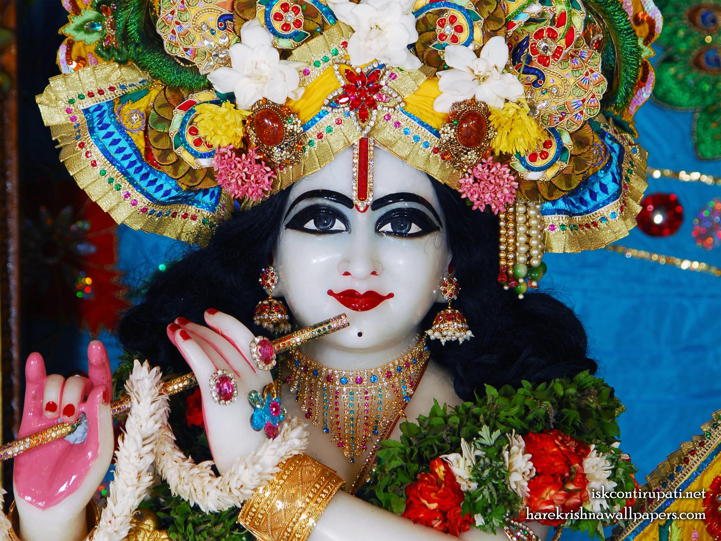 Sri Govinda Close up Wallpaper (003) Size 2400x1800 Download