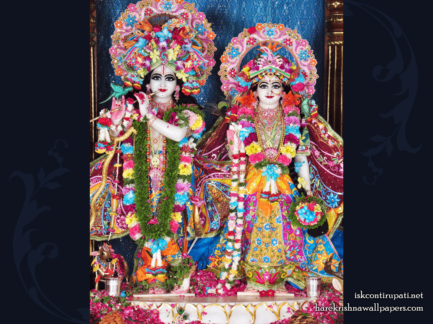 Sri Sri Radha Govinda Wallpaper (003) Size 1400x1050 Download