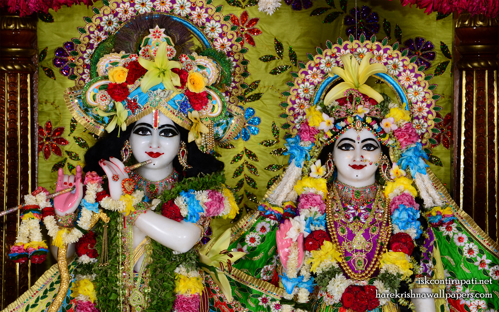 Sri Sri Radha Govinda Close up Wallpaper (003) Size 1680x1050 Download