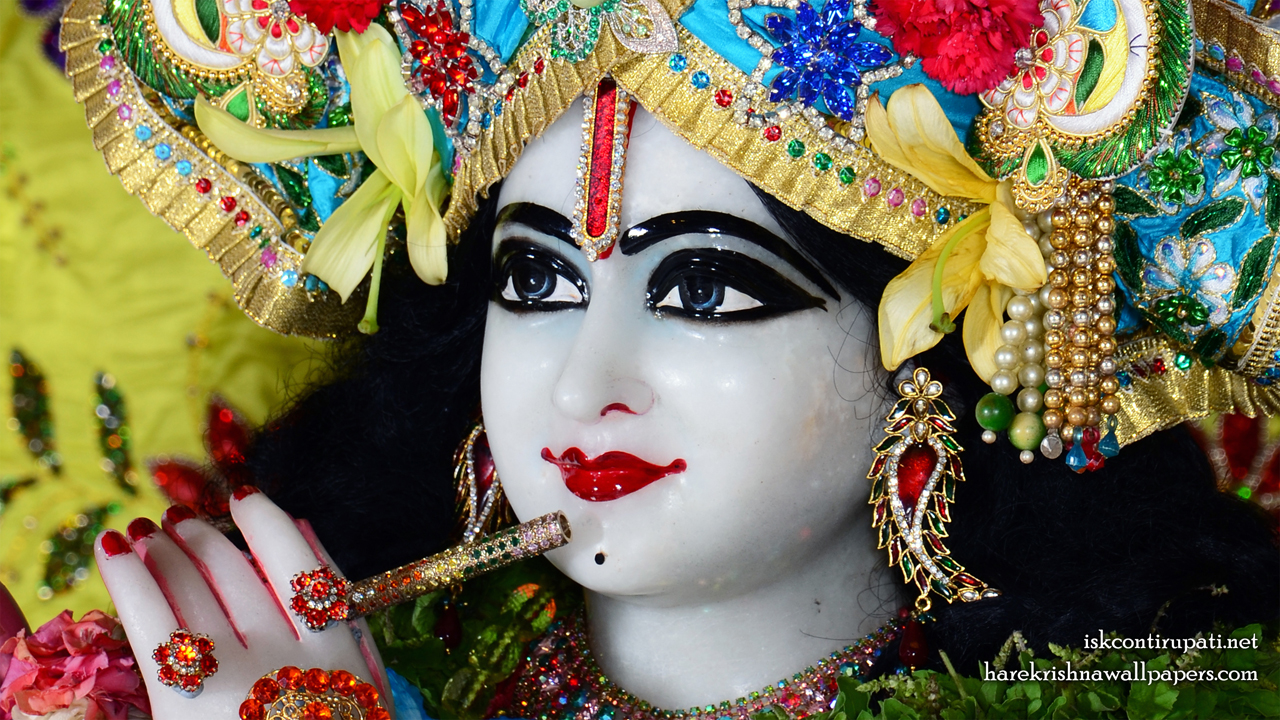 Sri Govinda Close up Wallpaper (004) Size 1280x720 Download