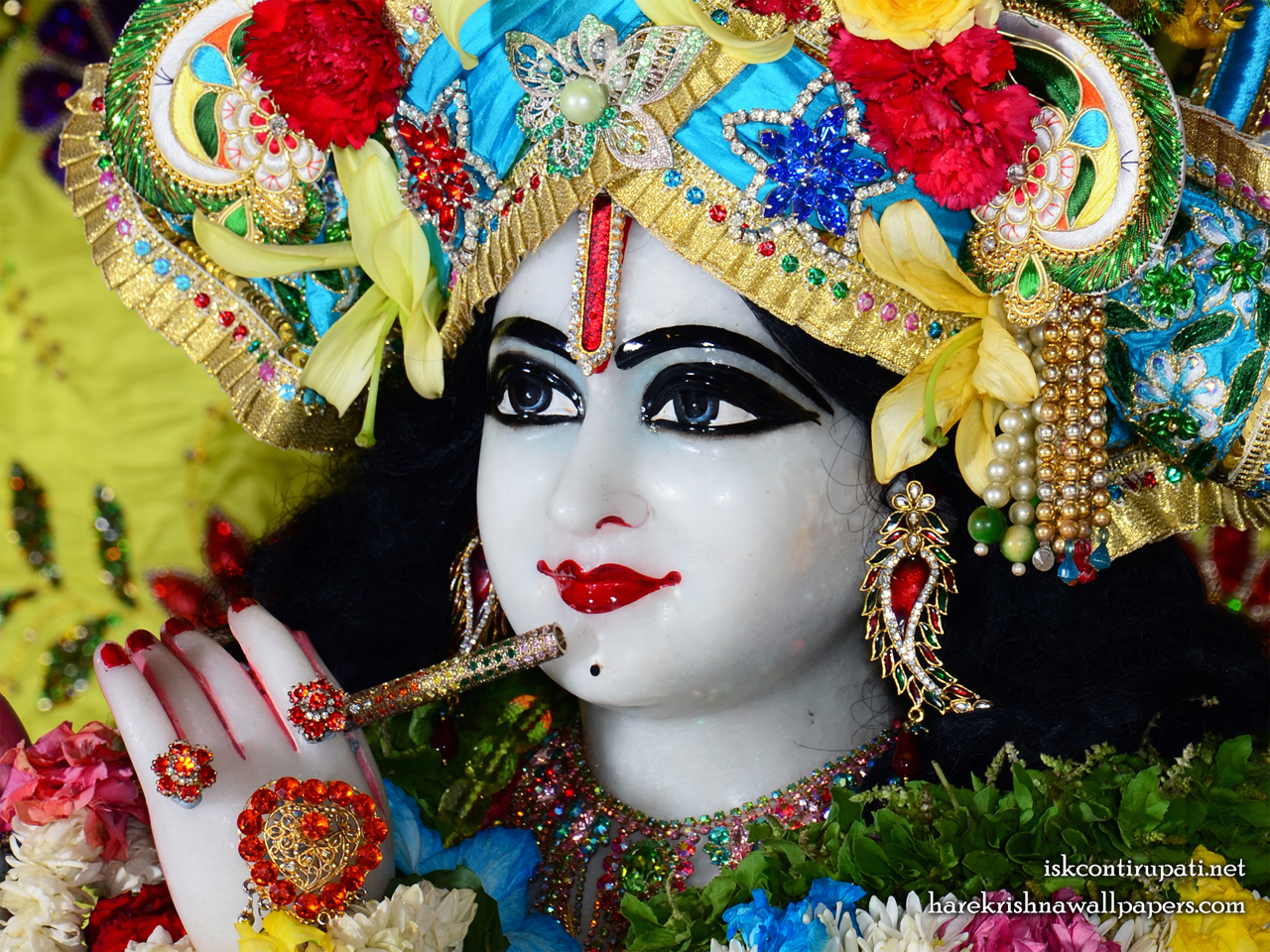 Sri Govinda Close up Wallpaper (004) Size 1280x960 Download
