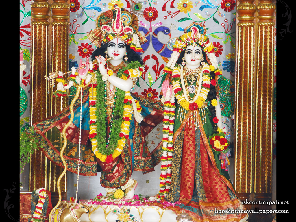 Sri Sri Radha Govinda Wallpaper (004) Size 1024x768 Download