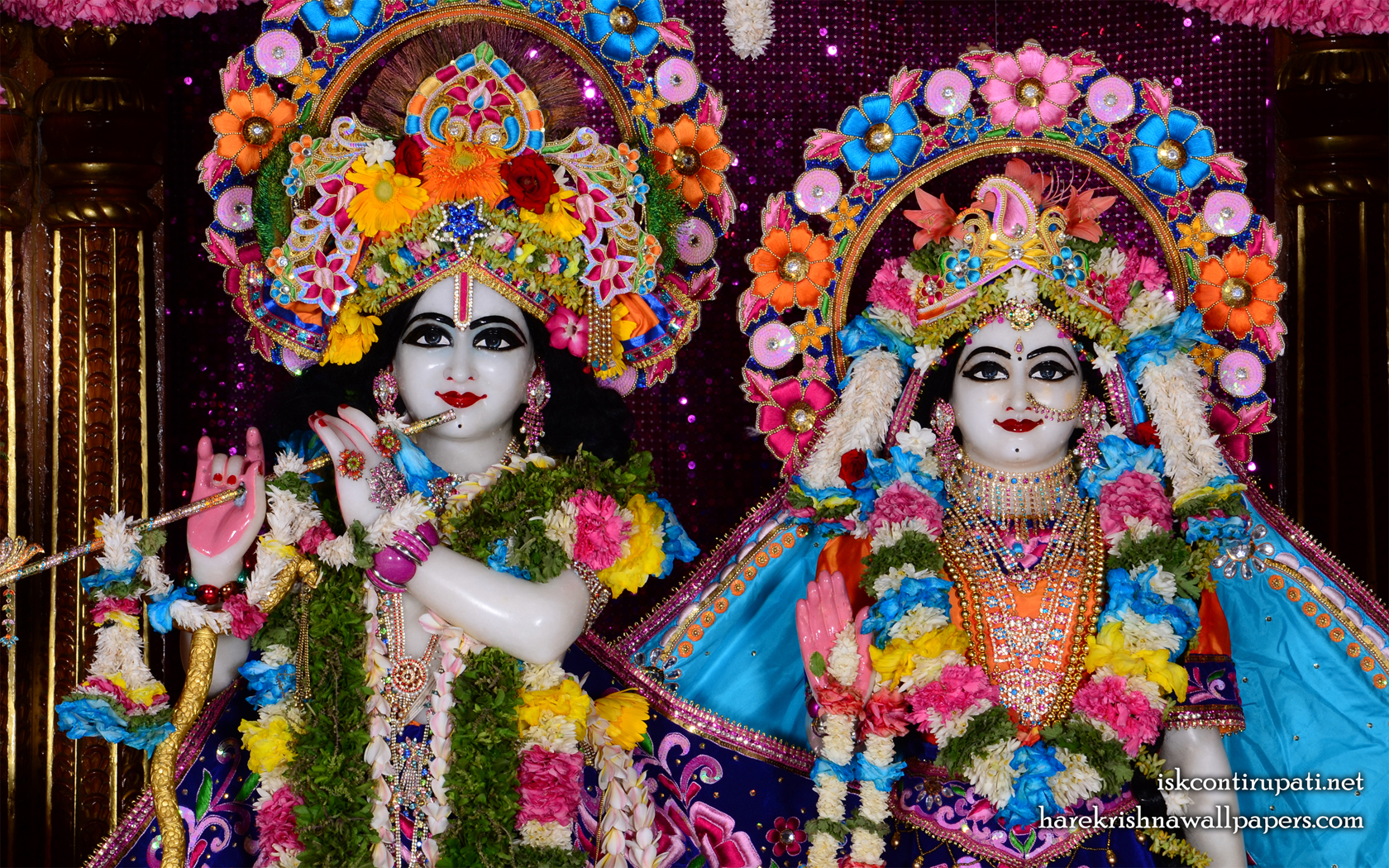 Sri Sri Radha Govinda Close up Wallpaper (004) Size 1680x1050 Download