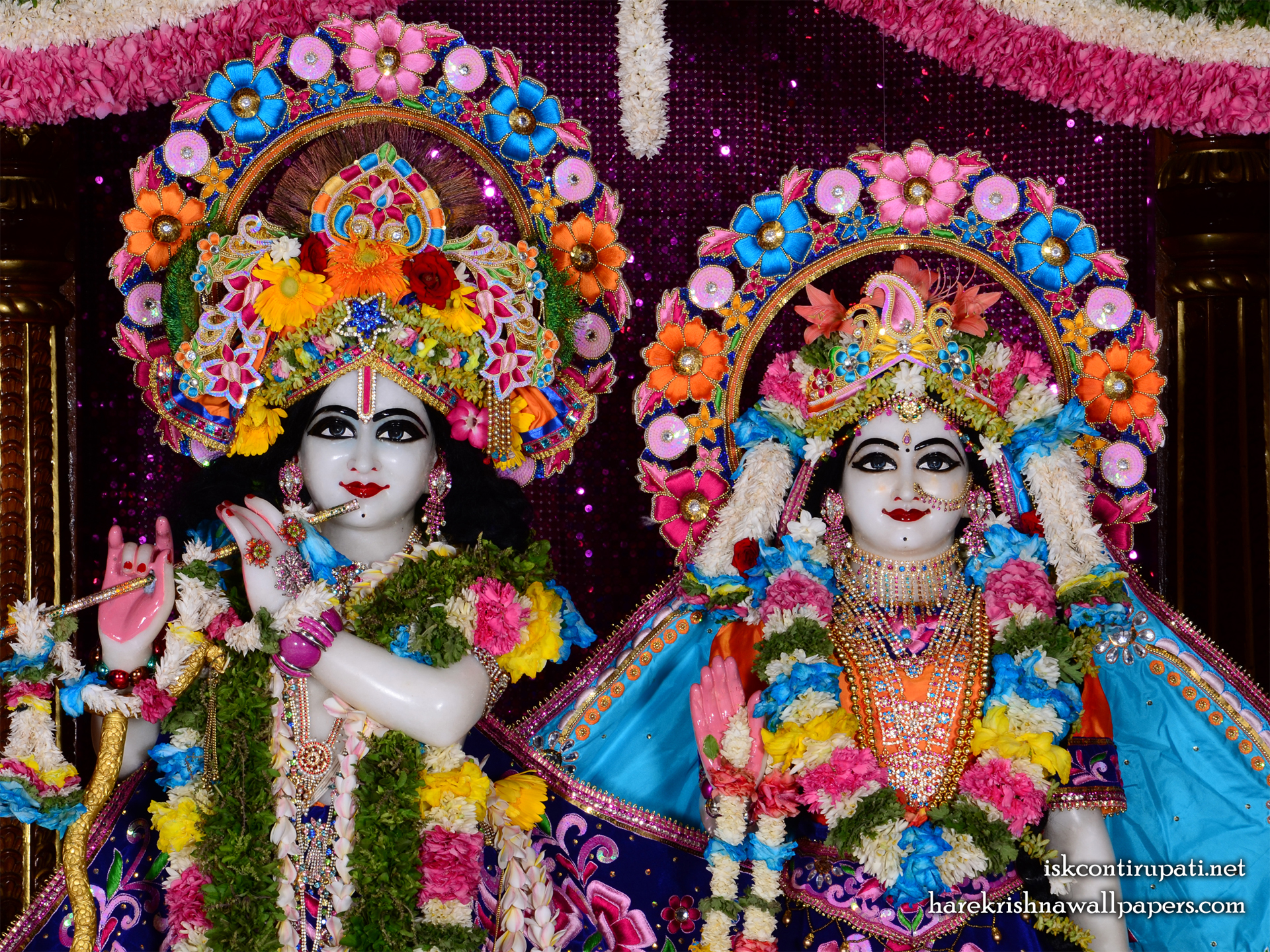 Sri Sri Radha Govinda Close up Wallpaper (004) Size 1920x1440 Download