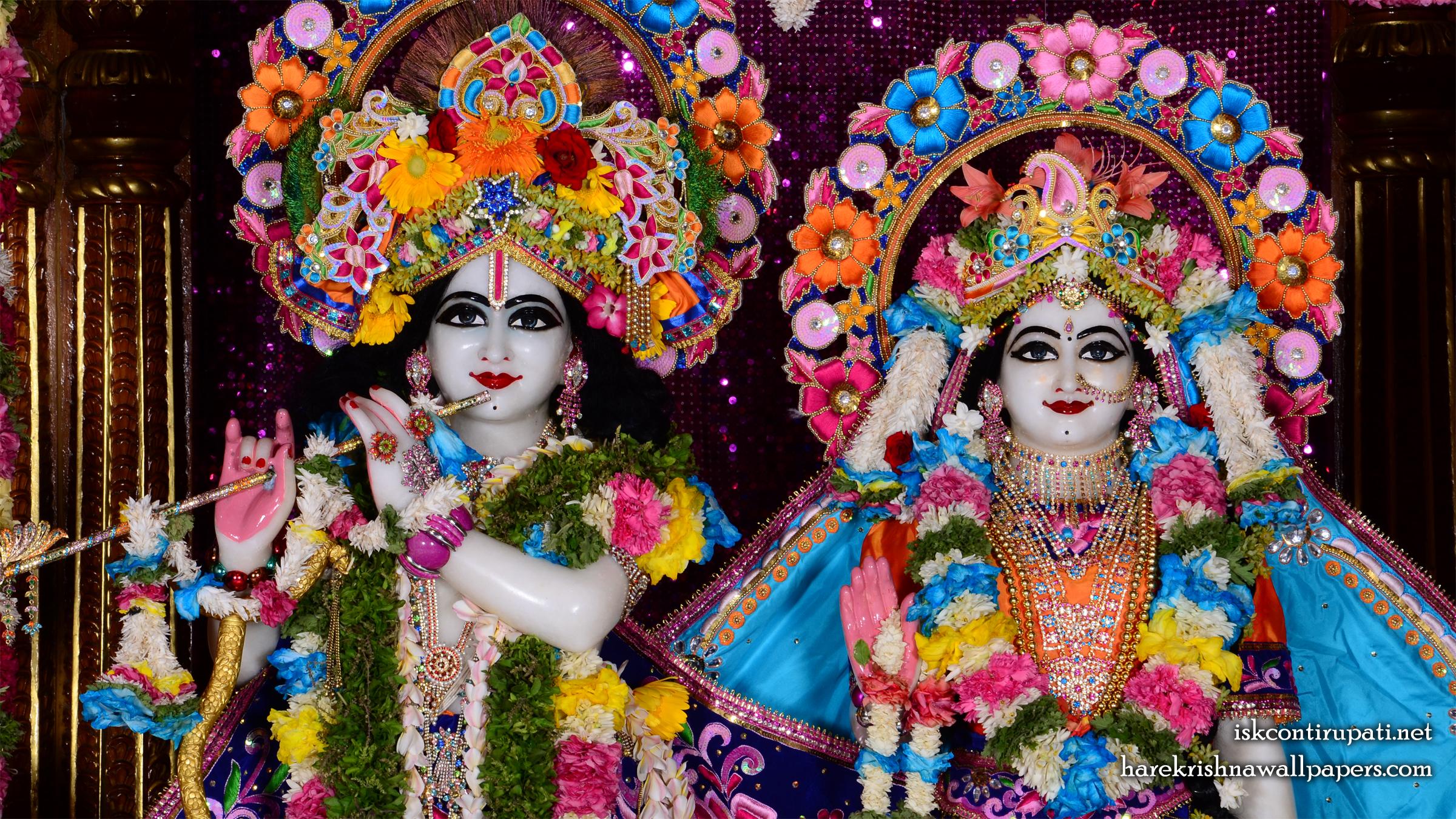 Sri Sri Radha Govinda Close up Wallpaper (004) Size 2400x1350 Download