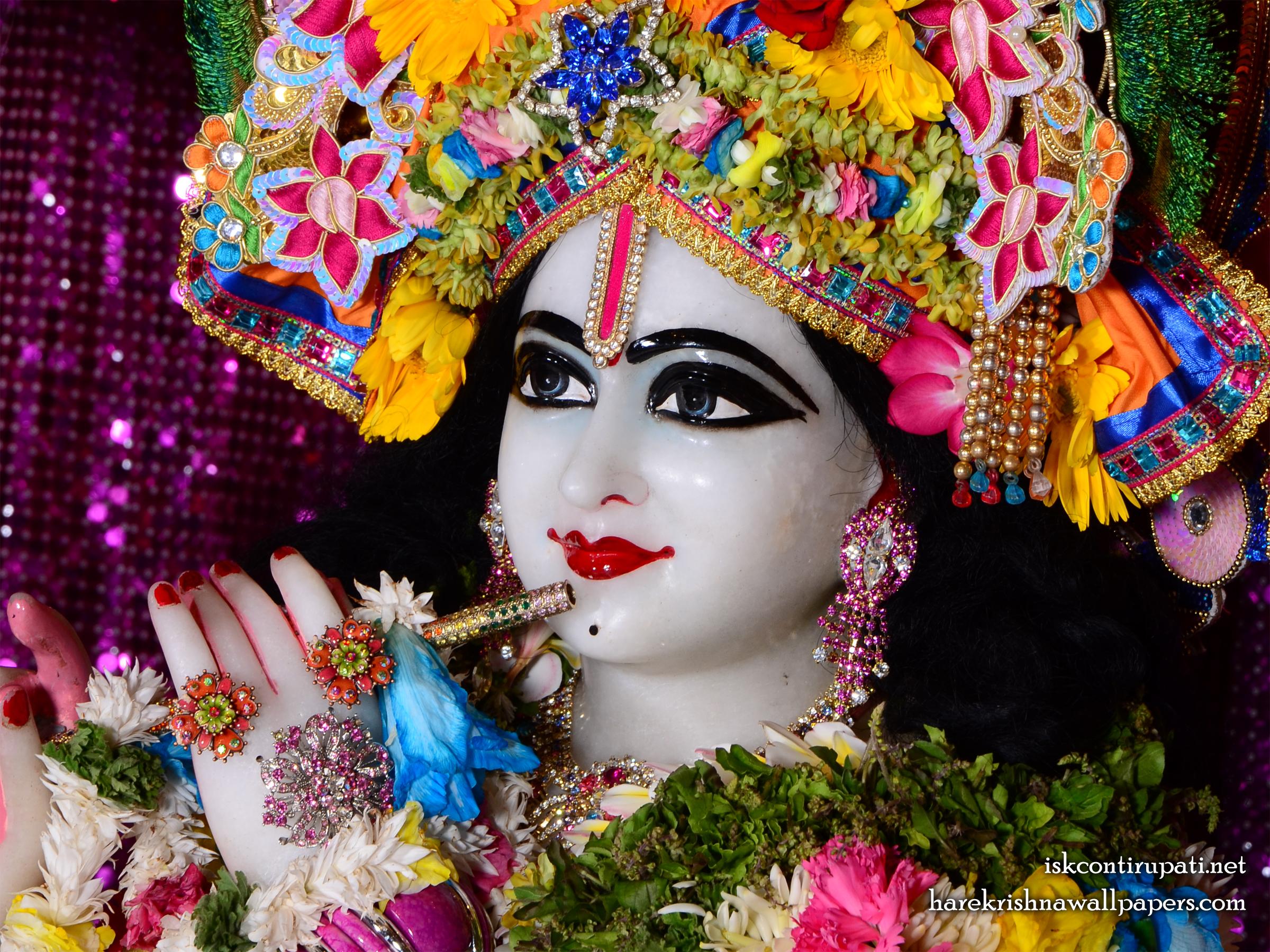 Sri Govinda Close up Wallpaper (005) Size 2400x1800 Download