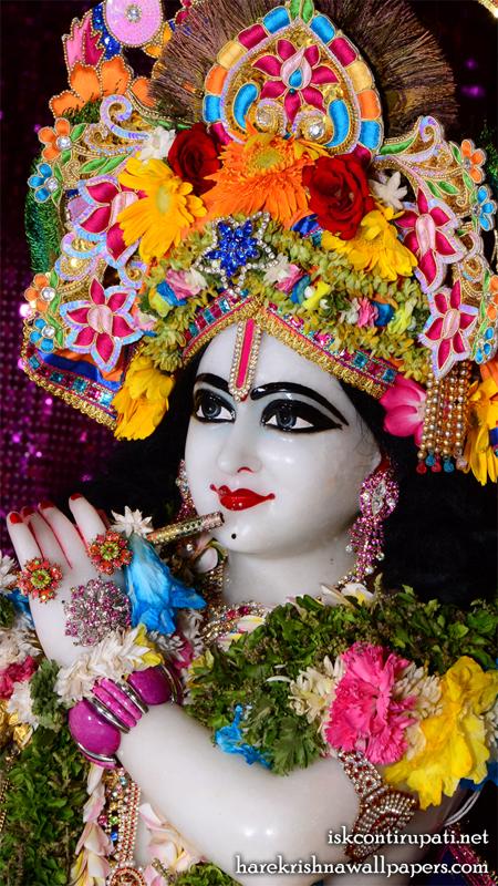 Sri Govinda Close up Wallpaper (005) Size 450x800 Download