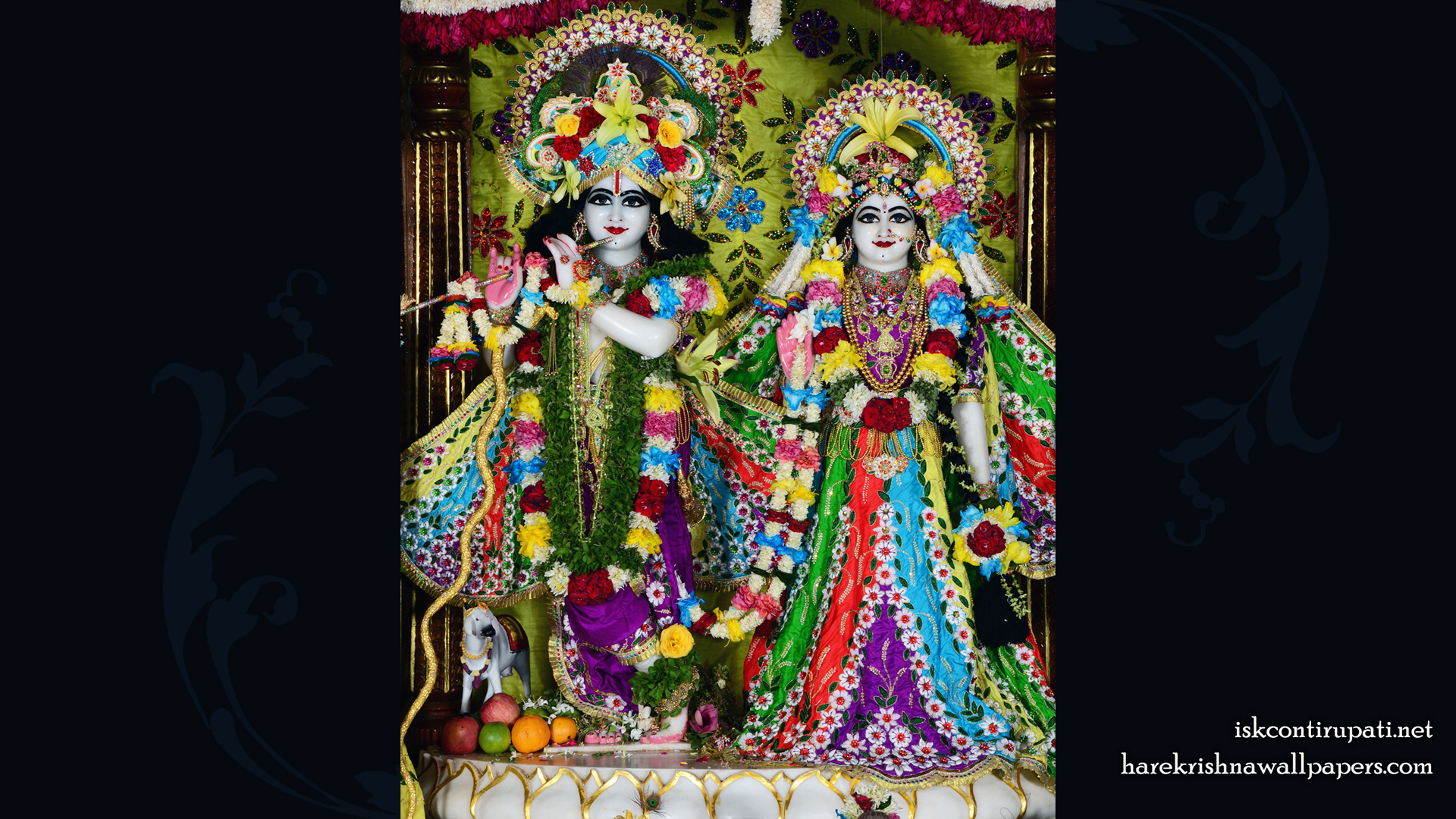 Sri Sri Radha Govinda Wallpaper (005) Size 1920x1080 Download