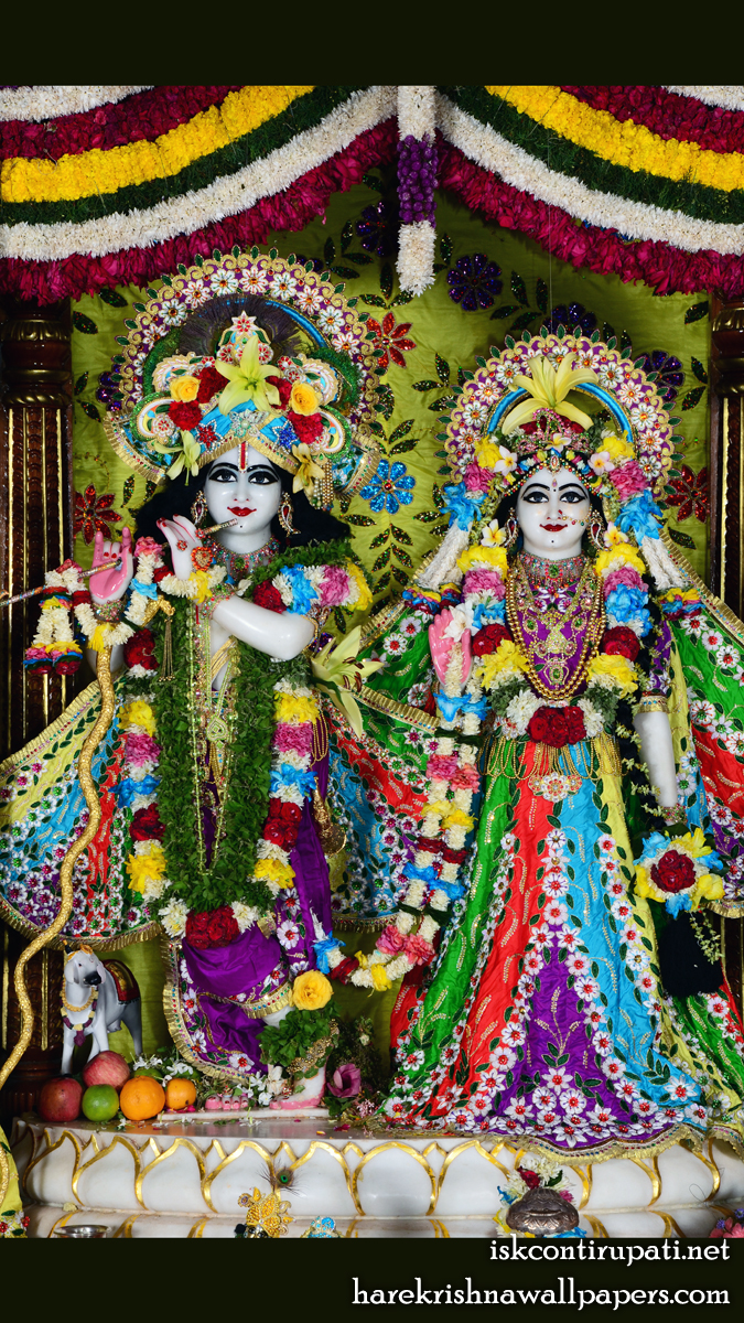 Sri Sri Radha Govinda Wallpaper (005) Size 675x1200 Download