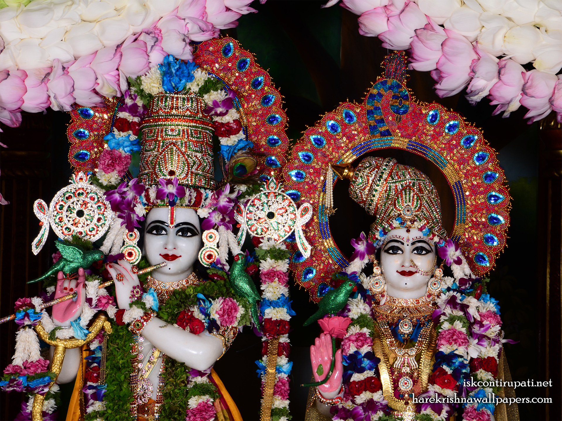 Sri Sri Radha Govinda Close up Wallpaper (005) Size 1920x1440 Download