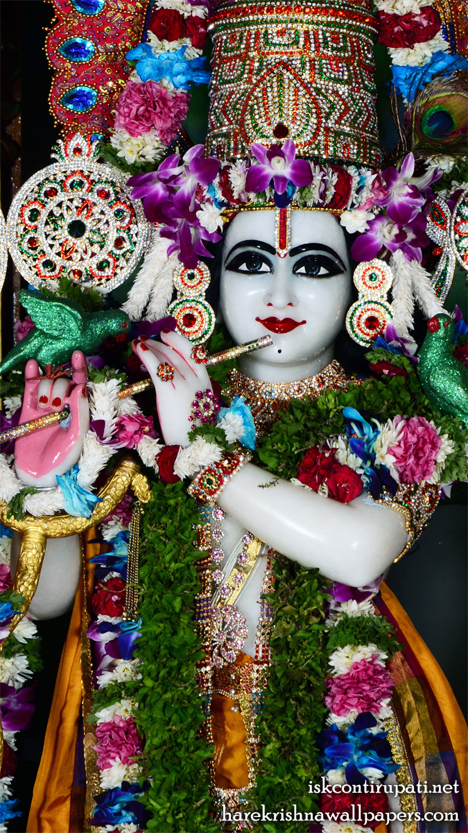 Sri Govinda Close up Wallpaper (006) Size 675x1200 Download