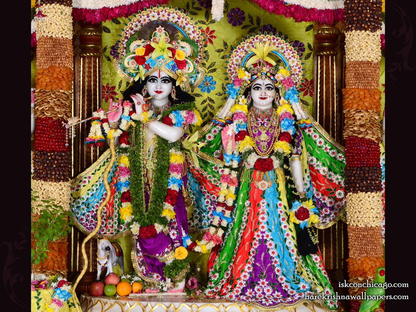 Sri Sri Radha Govinda Wallpaper (006) Size 1400x1050 Download