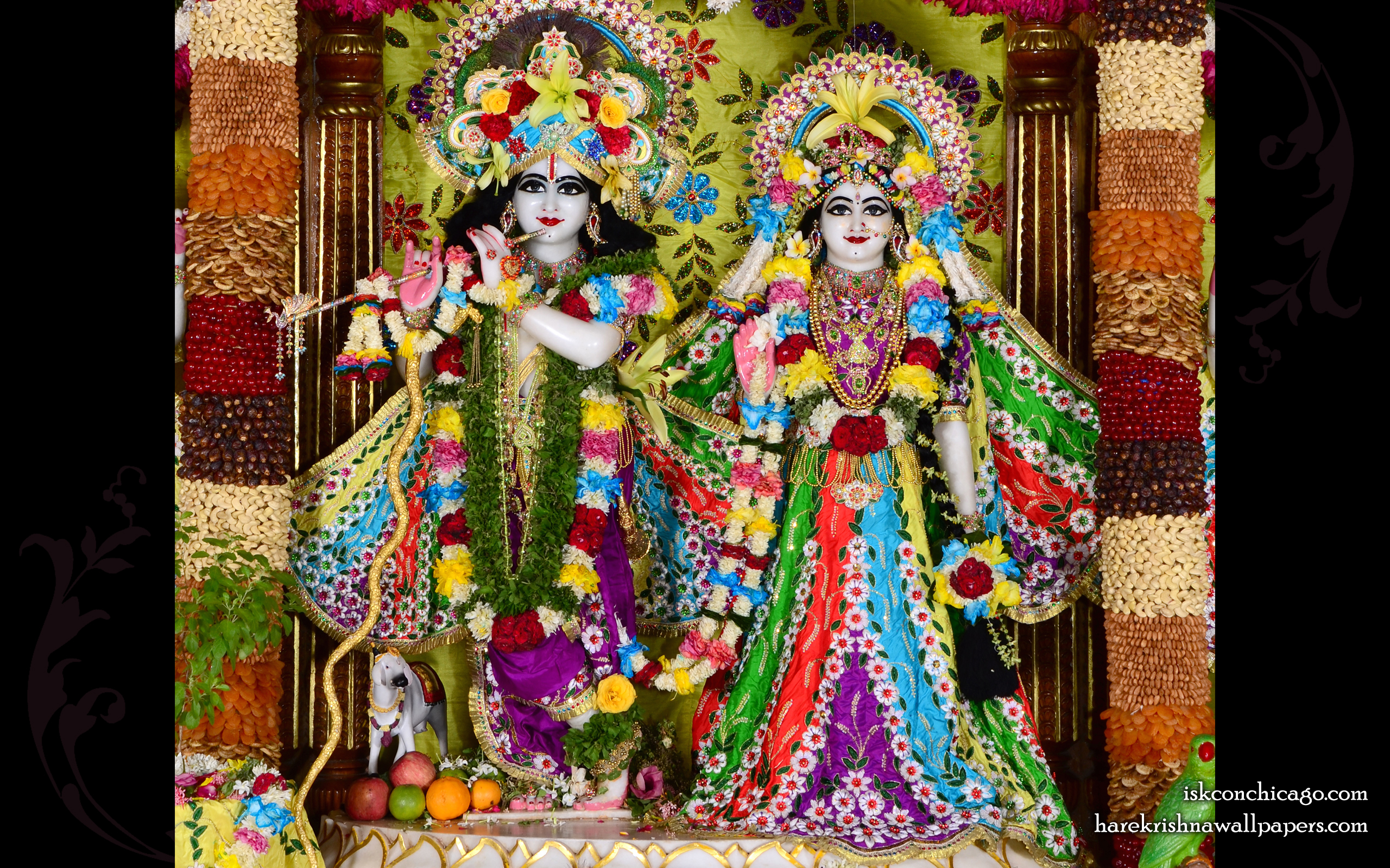 Sri Sri Radha Govinda Wallpaper (006) Size 2560x1600 Download