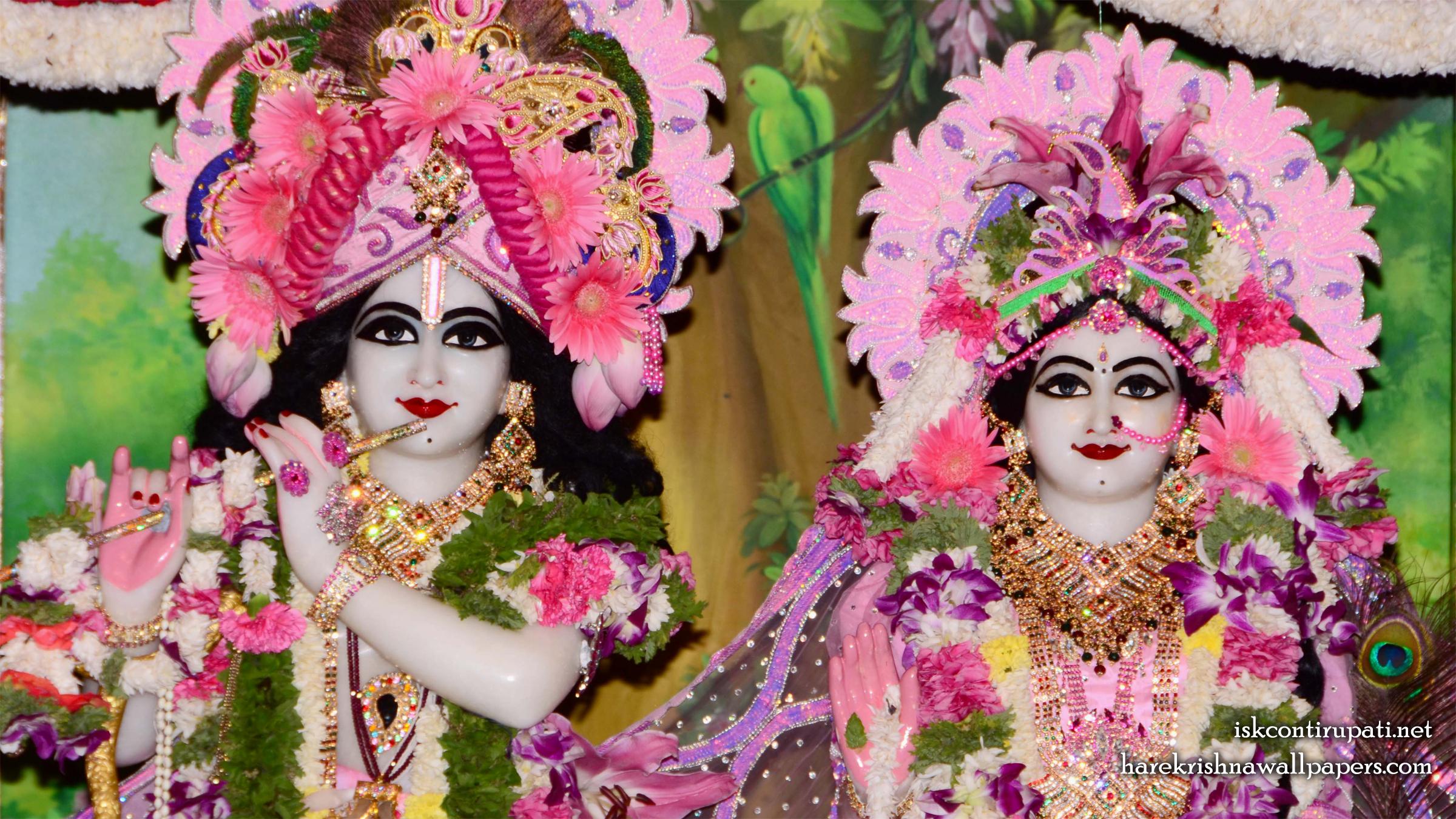 Sri Sri Radha Govinda Close up Wallpaper (006) Size 2400x1350 Download