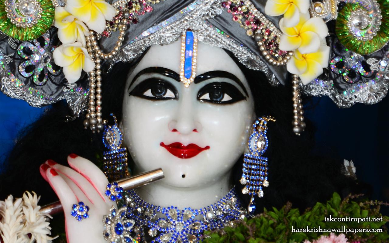 Sri Govinda Close up Wallpaper (007) Size 1280x800 Download