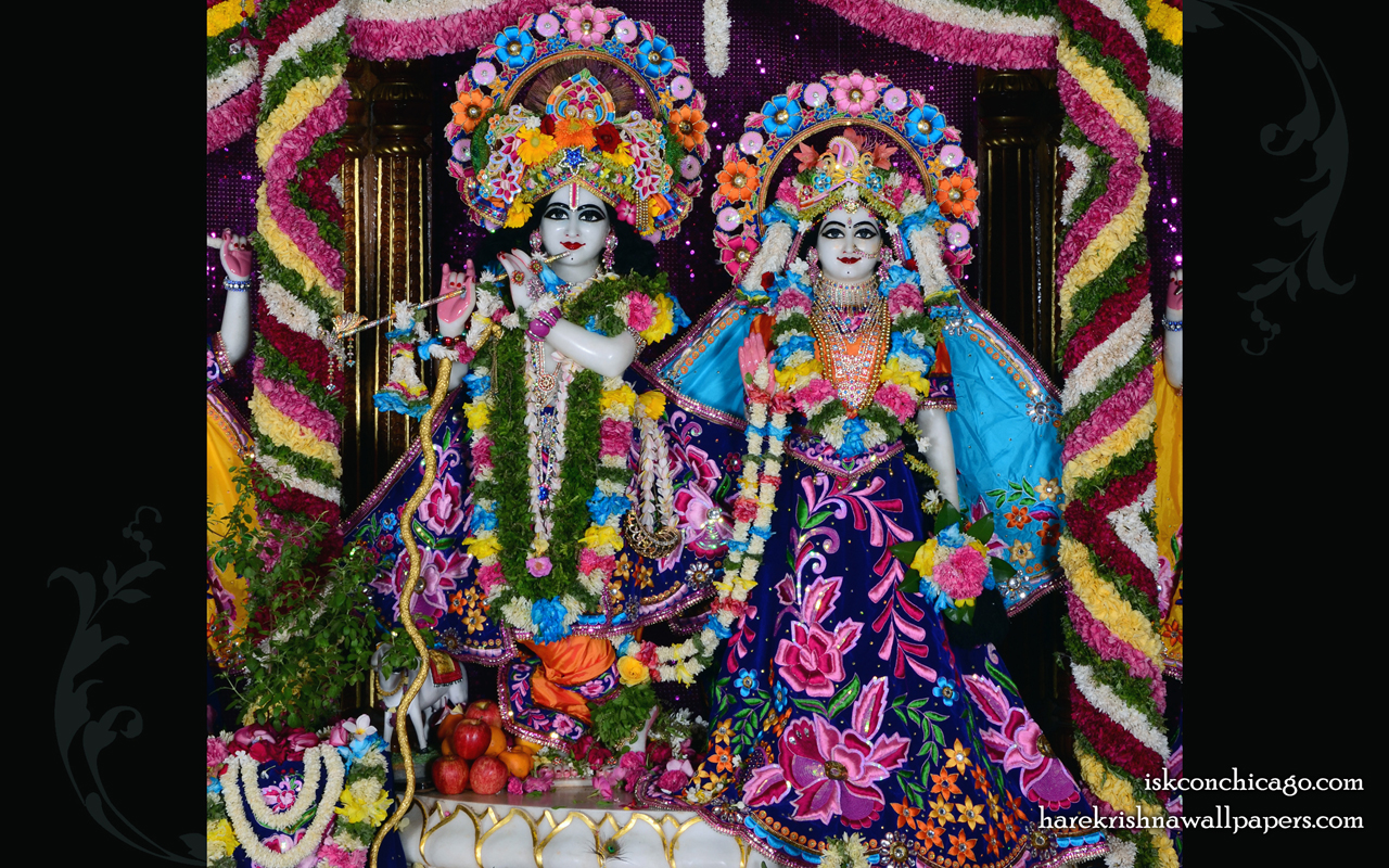 Sri Sri Radha Govinda Wallpaper (007) Size 1280x800 Download
