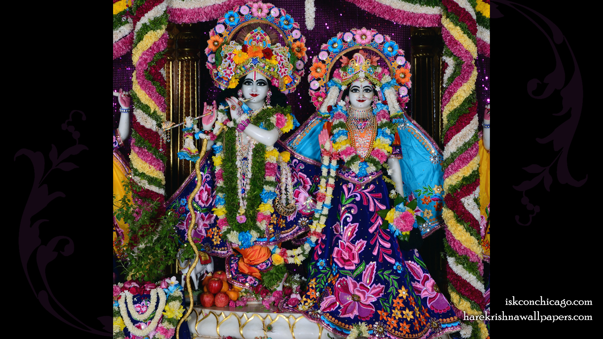 Sri Sri Radha Govinda Wallpaper (007) Size 1920x1080 Download